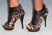 Modelos de zapatos animal print