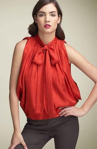 Blusas flojas, moda de verano 2013