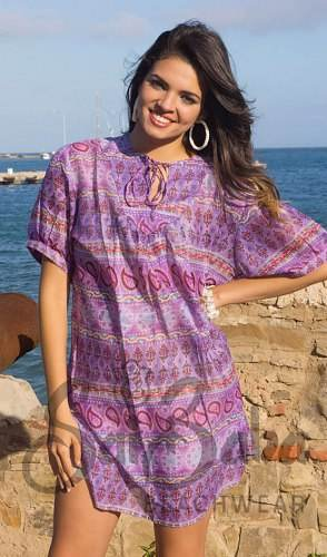 Vestidos coloridos para la playa