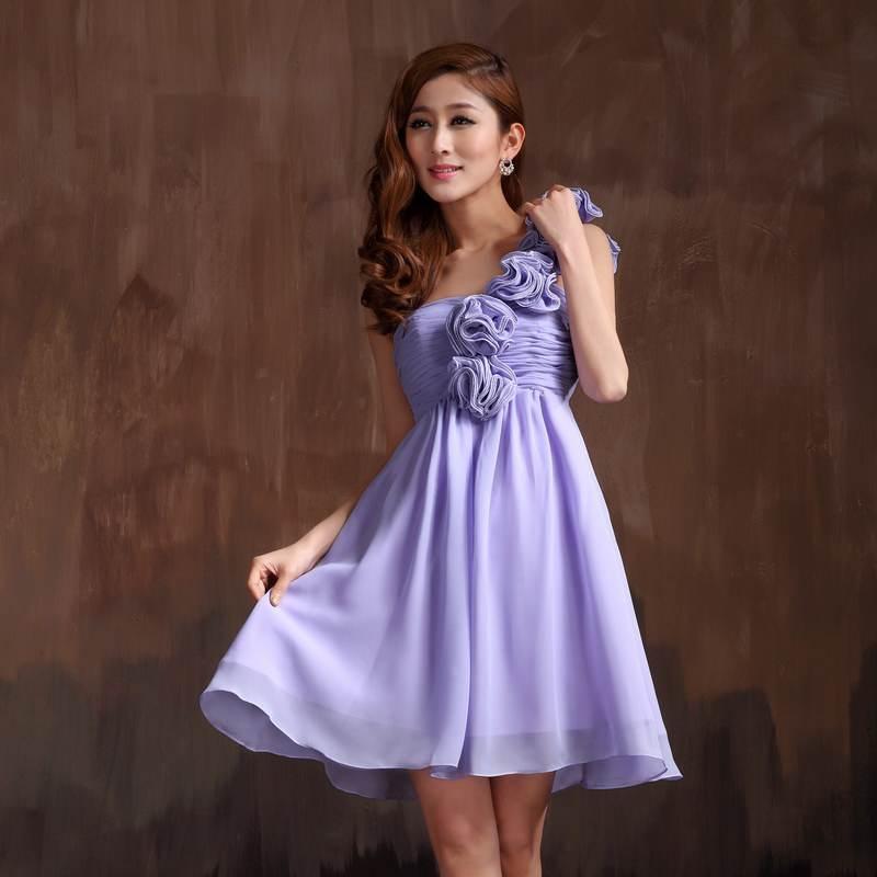 Vestidos cortos para damas de honor 2013 | AquiModa.com