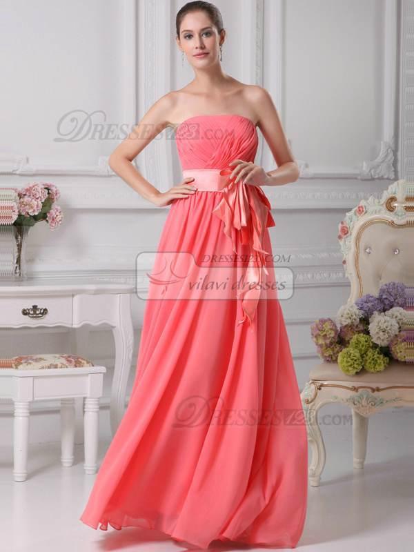 Increíble Vestidos De Dama Mismo Color Diferente Estilo Colección de ...