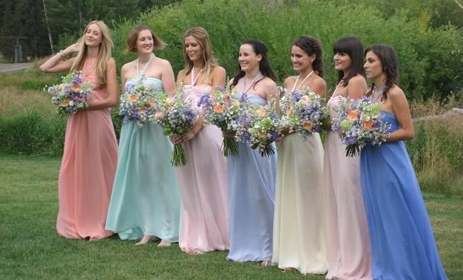 Propuestas en vestidos para damas de honor