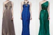 Impactantes modelos de vestidos largos de fiesta