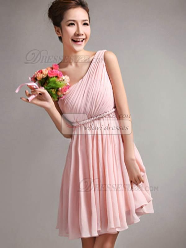 Hermosos vestidos cortos para damas de honor | AquiModa.com