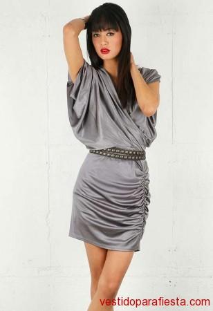 Modelos de vestidos drapeados de fiesta