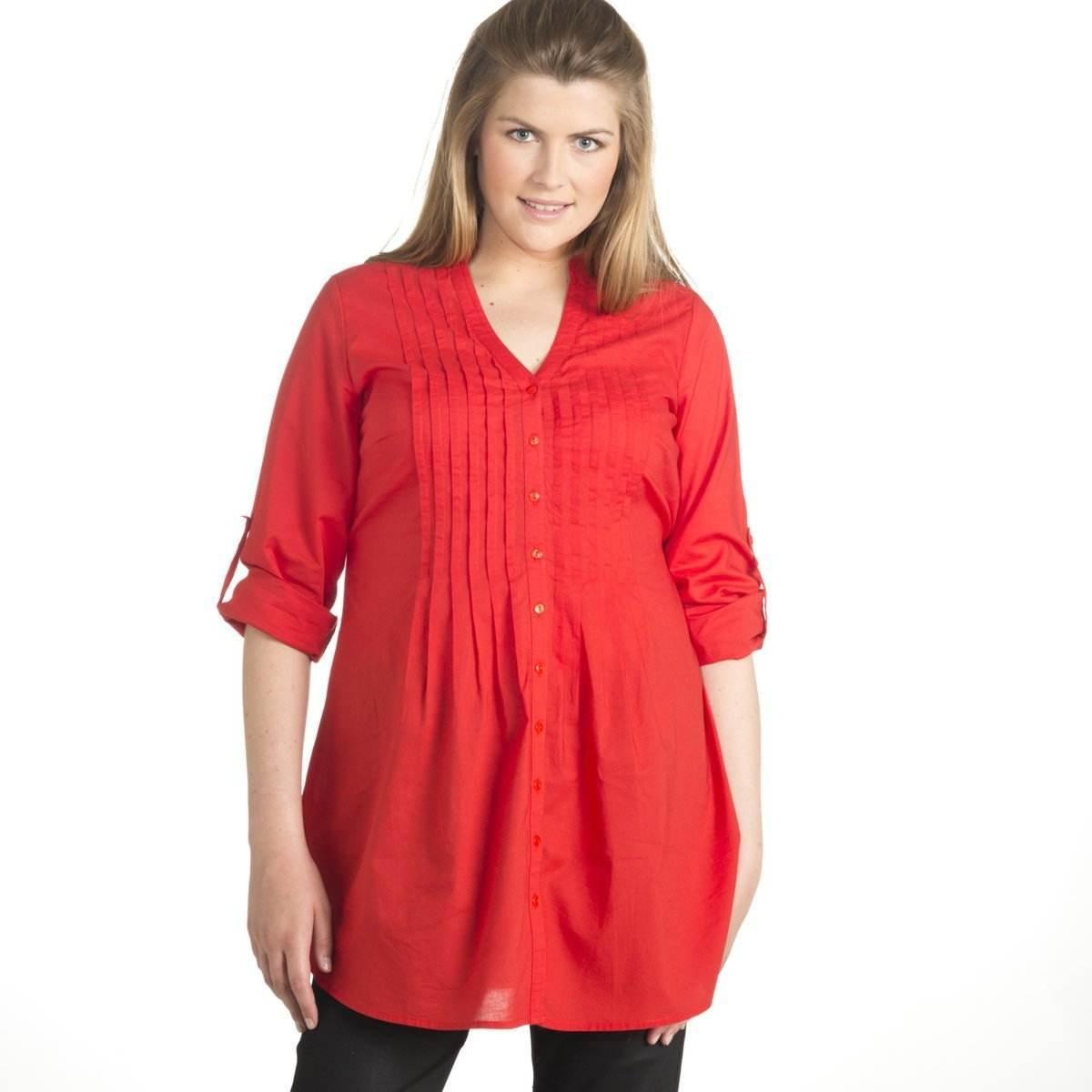 Camisas elegantes y modernas para gorditas