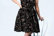 Vestidos cortos elegantes tallas grandes