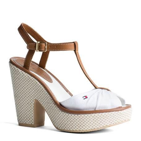 Zapatos Tacon Playero