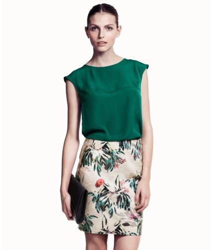 Faldas estampadas, la prenda de temporada 2013