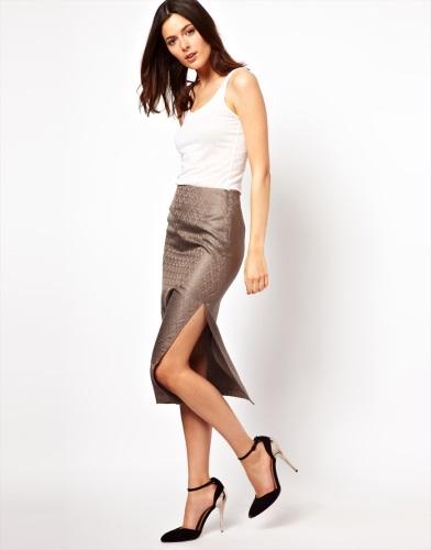 Faldas elegantes de fiesta, catálogo Asos 2013