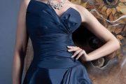 Vestidos azules para novias 2013