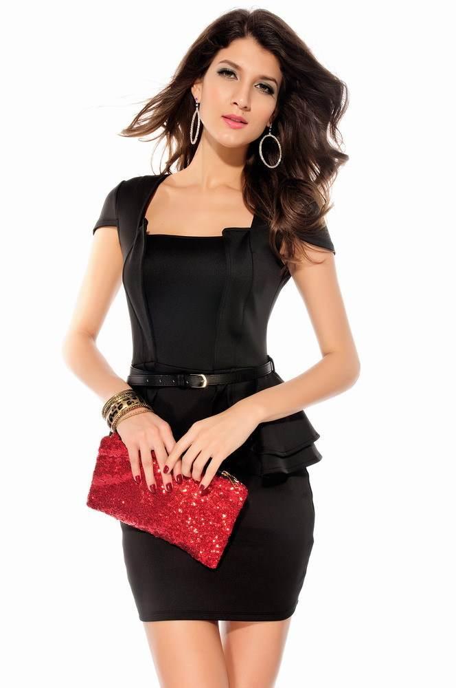 Un estilo que no pasa de moda: Vestidos peplum