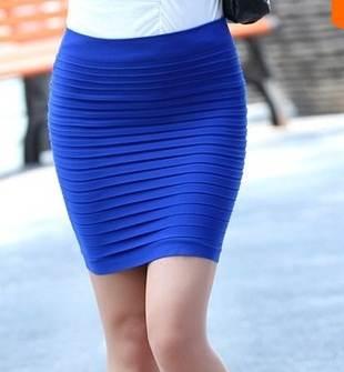 Faldas casuales, largas y cortas