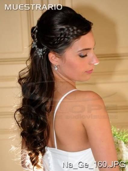 Ideas de peinados para novias modernas - Peinados monos modernos ...