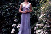 Vestidos de color lila para novias 2013
