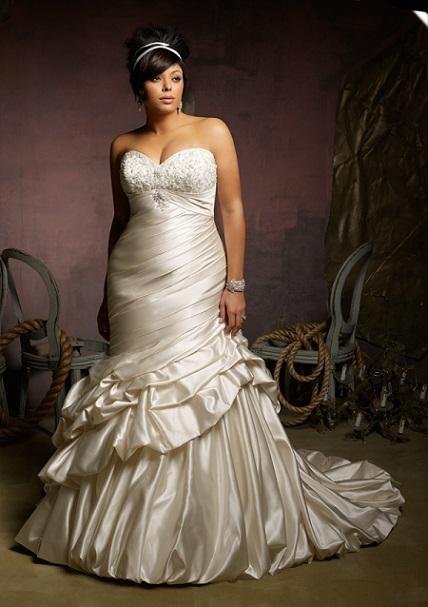 Vestidos de novia 2013 para gorditas