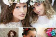Ideas elegantes para el peinado de las damas de honor