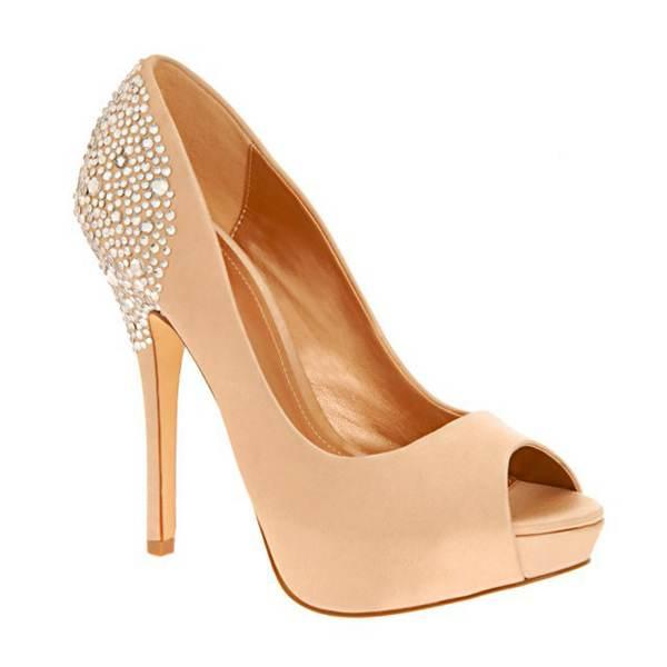 Zapatos de fiesta, elegantes tacones altos!