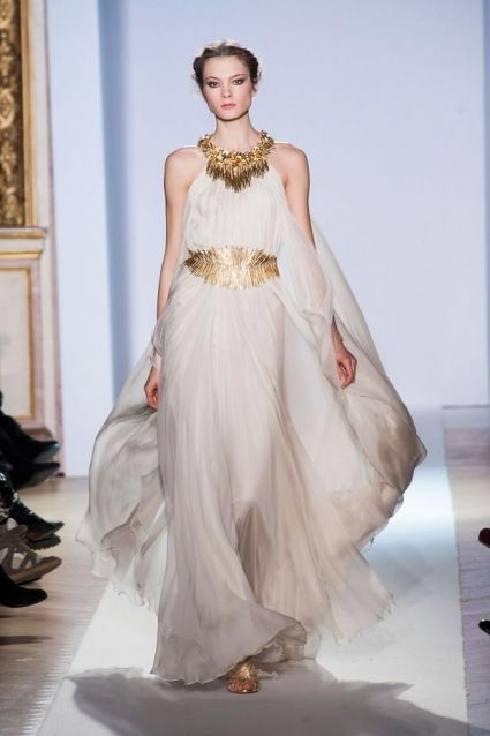 Vestidos de novia griegos cortos