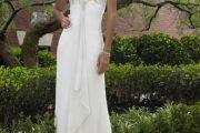 Vestidos muy simples para novias 2013