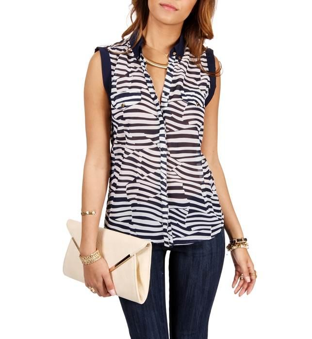 d05ae16e0 Modelos de blusas frescas para el verano 2013 | AquiModa.com