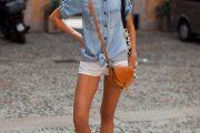 Aprende a llevar con estilo tu blusa denim, elegantes modelos