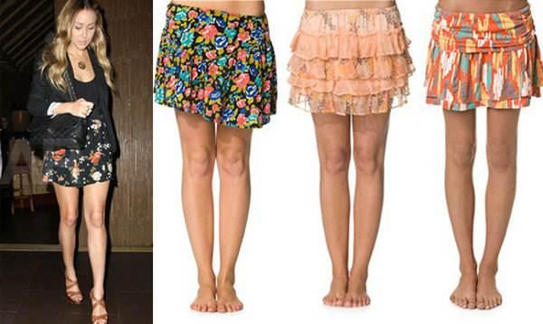 Faldas cortas: ¡Los mejores looks para este 2013!