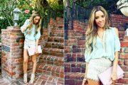 Blusas con hombros descubiertos: moda primavera-verano