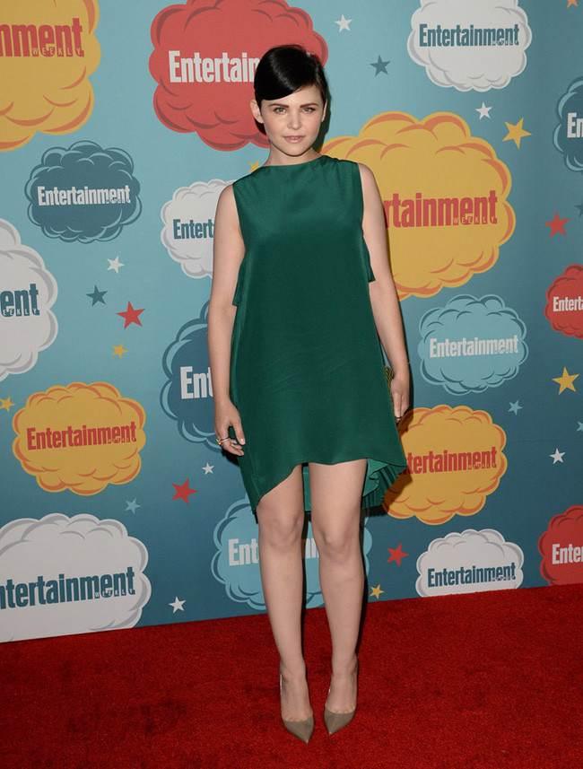 Vestidos verdes de fiesta las famosas