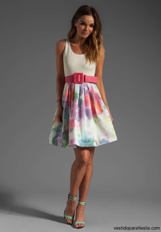 Vestidos floreados para el dia