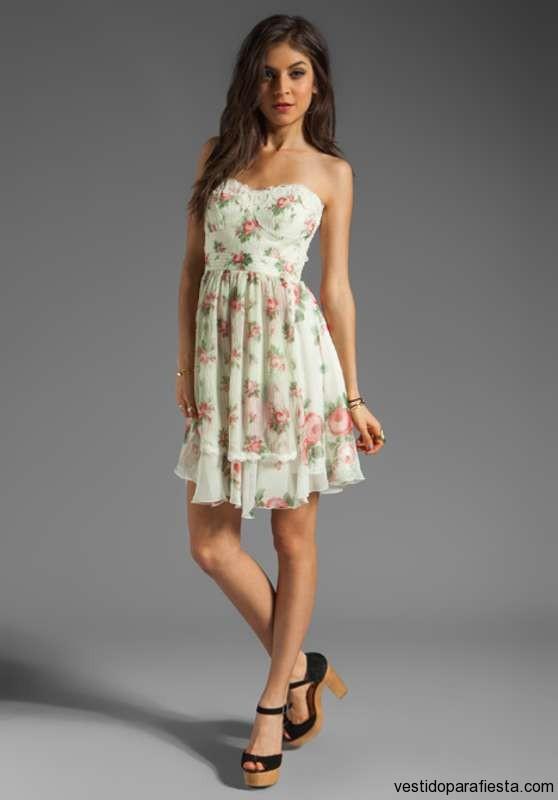 Vestidos para fiesta de jardin 2014