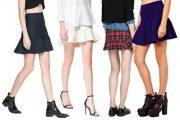 Faldas con vuelo o faldas honduladas
