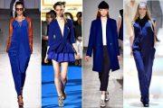 Tendencia en colores primavera verano 2013: ¡combina el azul klein!