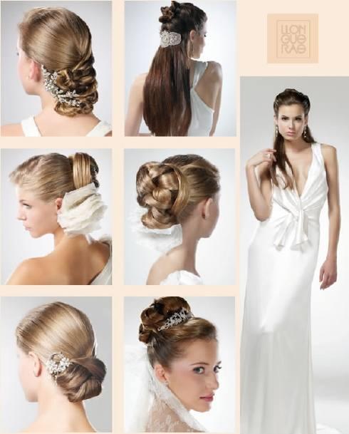 Peinados de moda actual para novias - Peinados de novia actuales ...