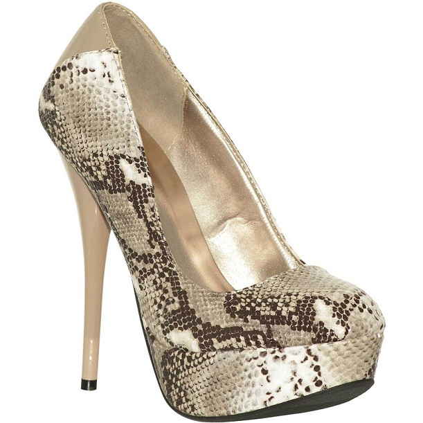 Nuevos zapatos de fiesta de El Corte Inglés 2014: para