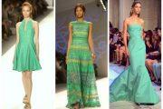 Luce el verde esmeralda este verano! vestidos de moda 2013