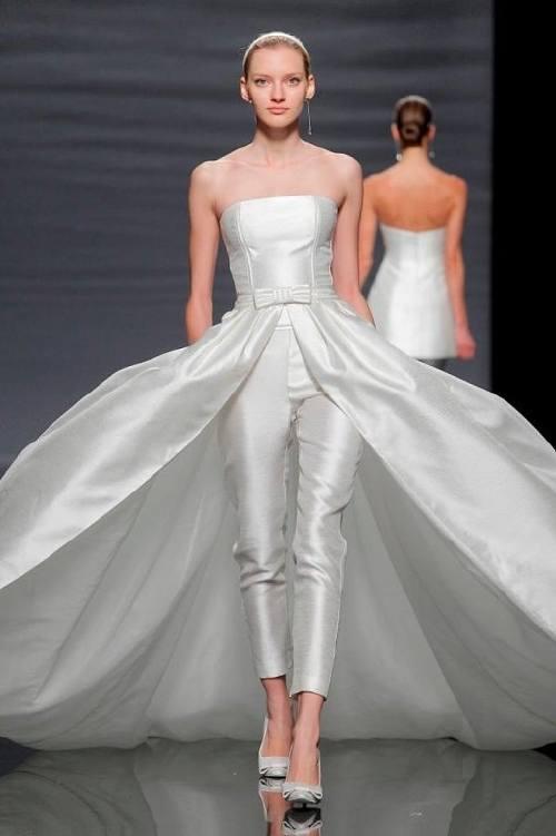 vestidos de novia rosa clara