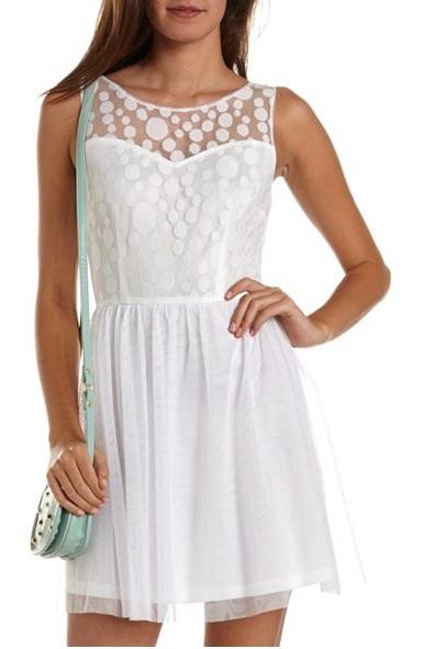 Vestidos de verano blancos