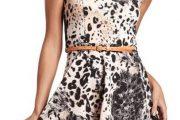 Vestidos con estampado de leopardo