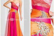 Vestidos muy elegantes de noche: Una explosión de colores!!