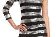 Vestidos Metalizados de moda 2013