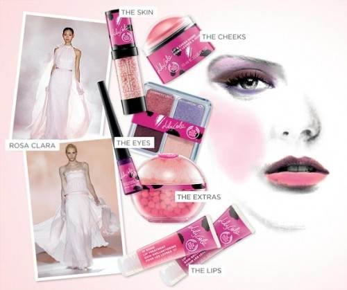El maquillaje de novia color rosa es tendencia 2013