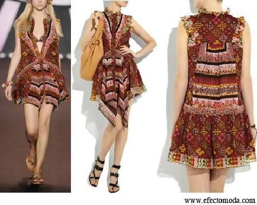 Vestidos cortos estilo bohemio para la mujer moderna - Ropa hippie moderna ...
