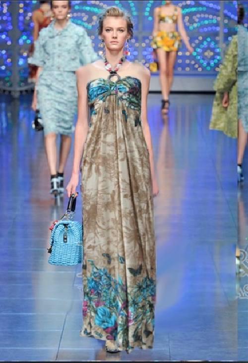 vestidos largos estilo bohemio