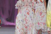 Vestidos con estampados florales primavera 2013
