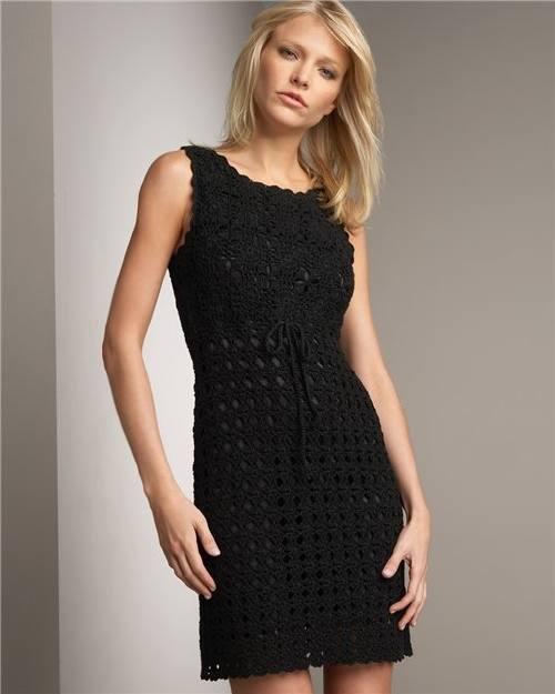 Para A Vestidos Tejidos Temporada Toda Crochet Nox8n0pwk
