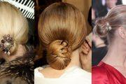 Los moños están de moda: Peinados altos 2013