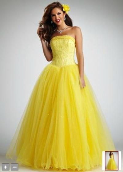 Vestidos de Quinceañera Amarillos