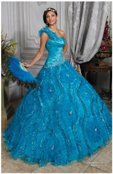 Vestidos Azules de XV años