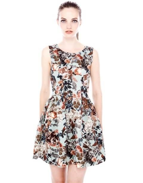 Vestidos cortos hermosos de moda 2013